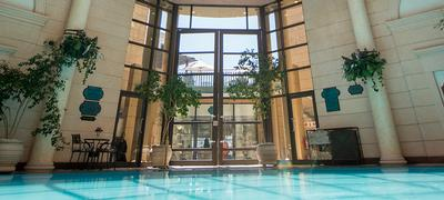 Michelangelo Indoor Pool View