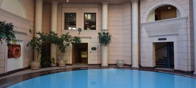 Michelangelo Indoor Pool Entrance