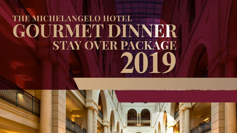 Gourmet Dinner Stayover Package 1