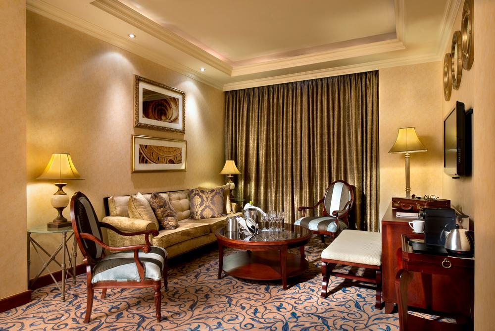 Michelangelo Hotel Executive Suite Lounge 1